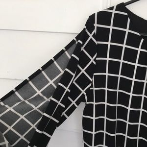Charming Charlie Dresses - 5/$20 Charming Charlie blouson dress 3/4 sleeve M